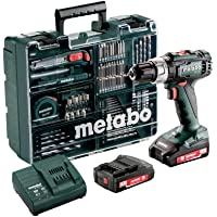 Metabo 602317870 Taladradora de Percusión de Batería, 18