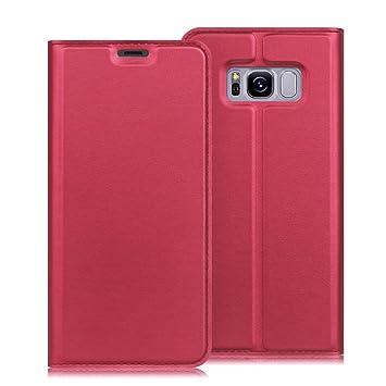 Fintie Funda para Samsung Galaxy S8 Plus - Carcasa de Cuero Sintético [Ranuras para Tarjetas] con Función de Soporte para Samsung Galaxy S8 Plus ...