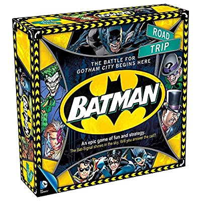 Warner Bros. DC Comics Batman Road Trip Board Game