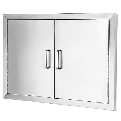 Amazon.com : VEVOR Access Door 304 Stainless Steel BBQ Doors 31\