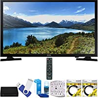 Samsung UN32J4000 32 720p LED TV Plus Terk Cut-the-Cord HD Digital TV Tuner and Recorder 16GB Hook-Up Bundle