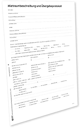 avery zweckform 2214e bergabeprotokoll wohnung pdf download - Ubergabeprotokoll Hauskauf Muster