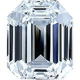 1.03 Ct. | Emerald Cut | G-Ice Blue Color | VS1 Clarity | U.S. Man Made Diamond