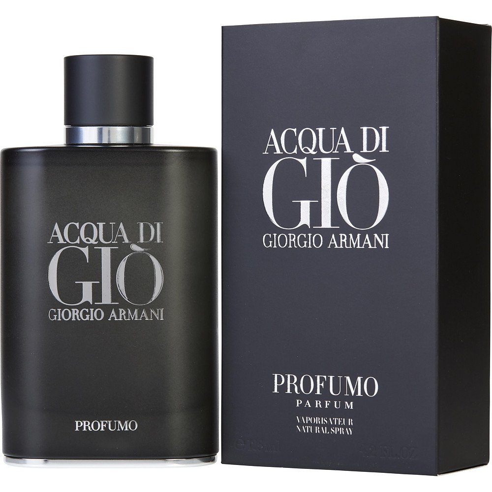 ACQUA DI GIO PROFUMO by Giorgio Armani PARFUM SPRAY 4.2 OZ for MEN ---(Package Of 2)