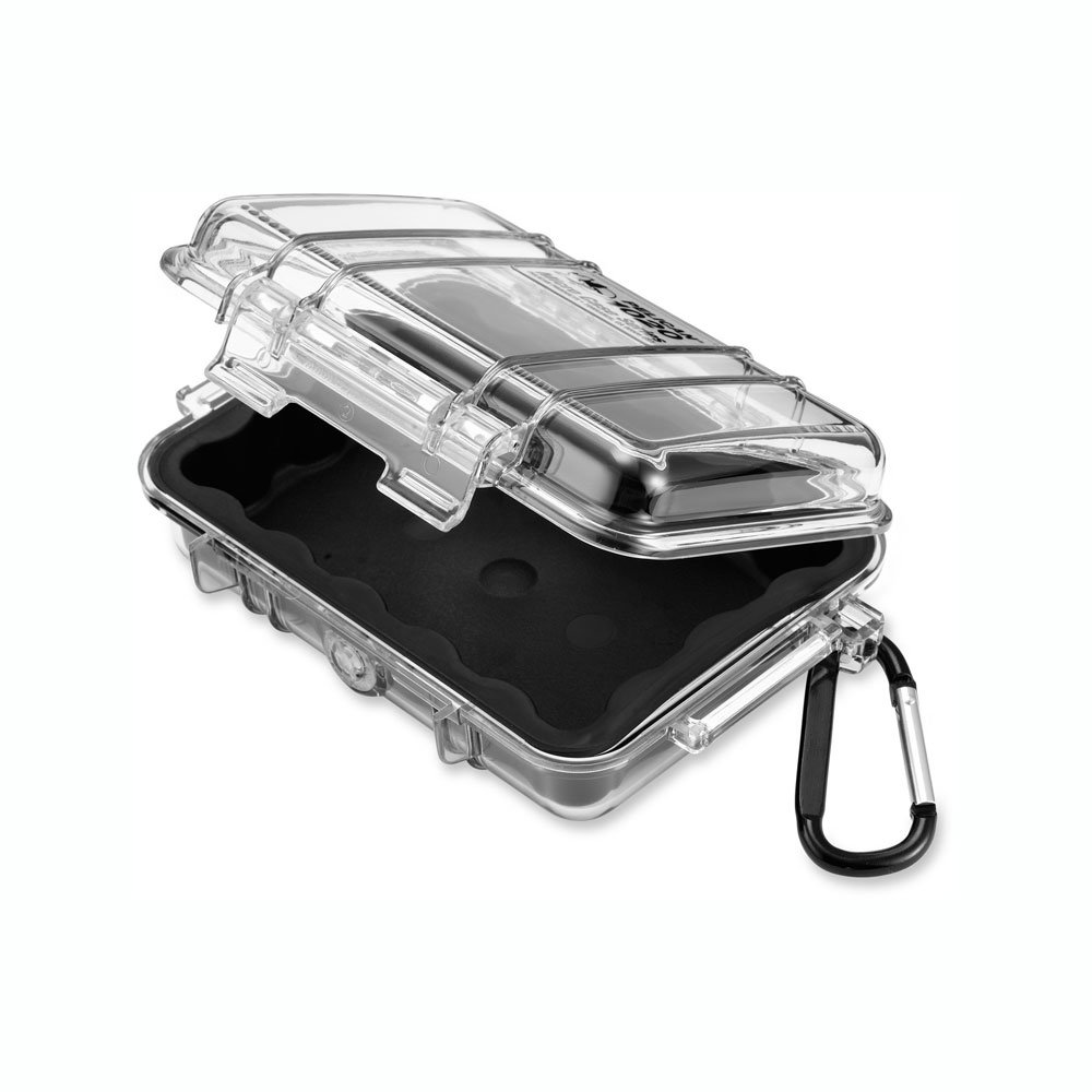 Waterproof Case GoPro Camera Pelican 1010 Micro Case Yellow//Clear and More for Cell Phone