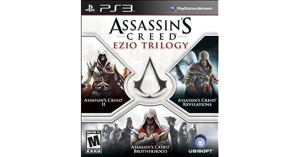 Amazon.com: Assassin's Creed: Ezio Trilogy - Playstation 3: UbiSoft: Video Games