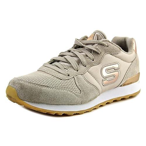 Skechers Originals OG 85 Goldn Gurl Zapatillas de Deporte Mujer, Gris (TPE), 38.5 EU: Amazon.es: Zapatos y complementos
