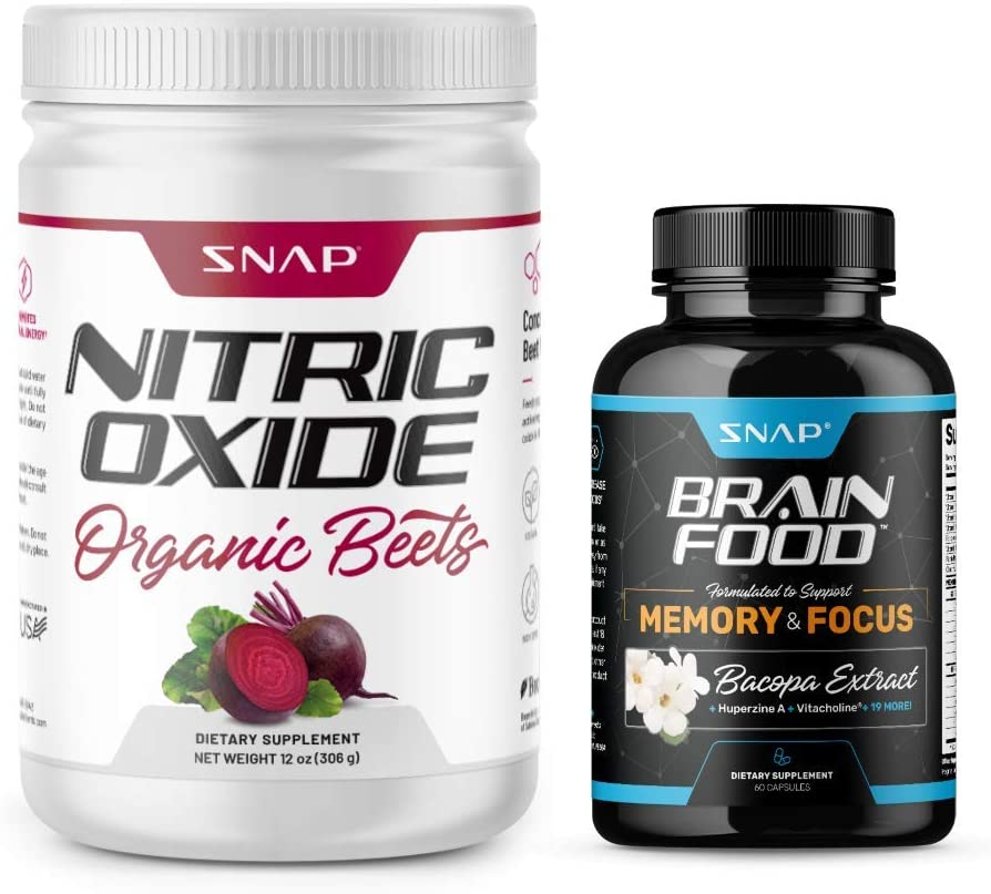 Organic Beets + Brain Food Bundle (2 Products)