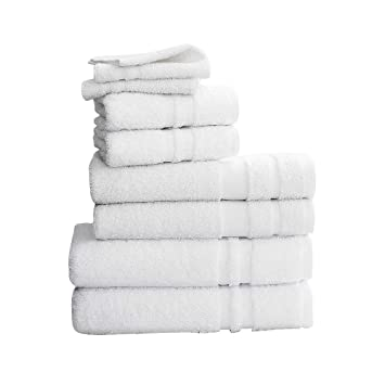 Amazoncom Bath Towel 24 X 48 In White Pk 12 Home Kitchen