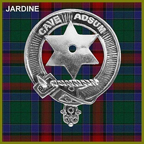 Jardine Clan Crest Scottish Cap Badge