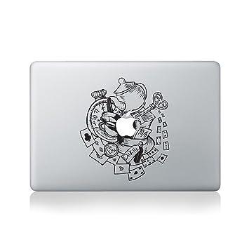Amazon.com: Wonderland Cups – Vinilo calcomanía para MacBook ...