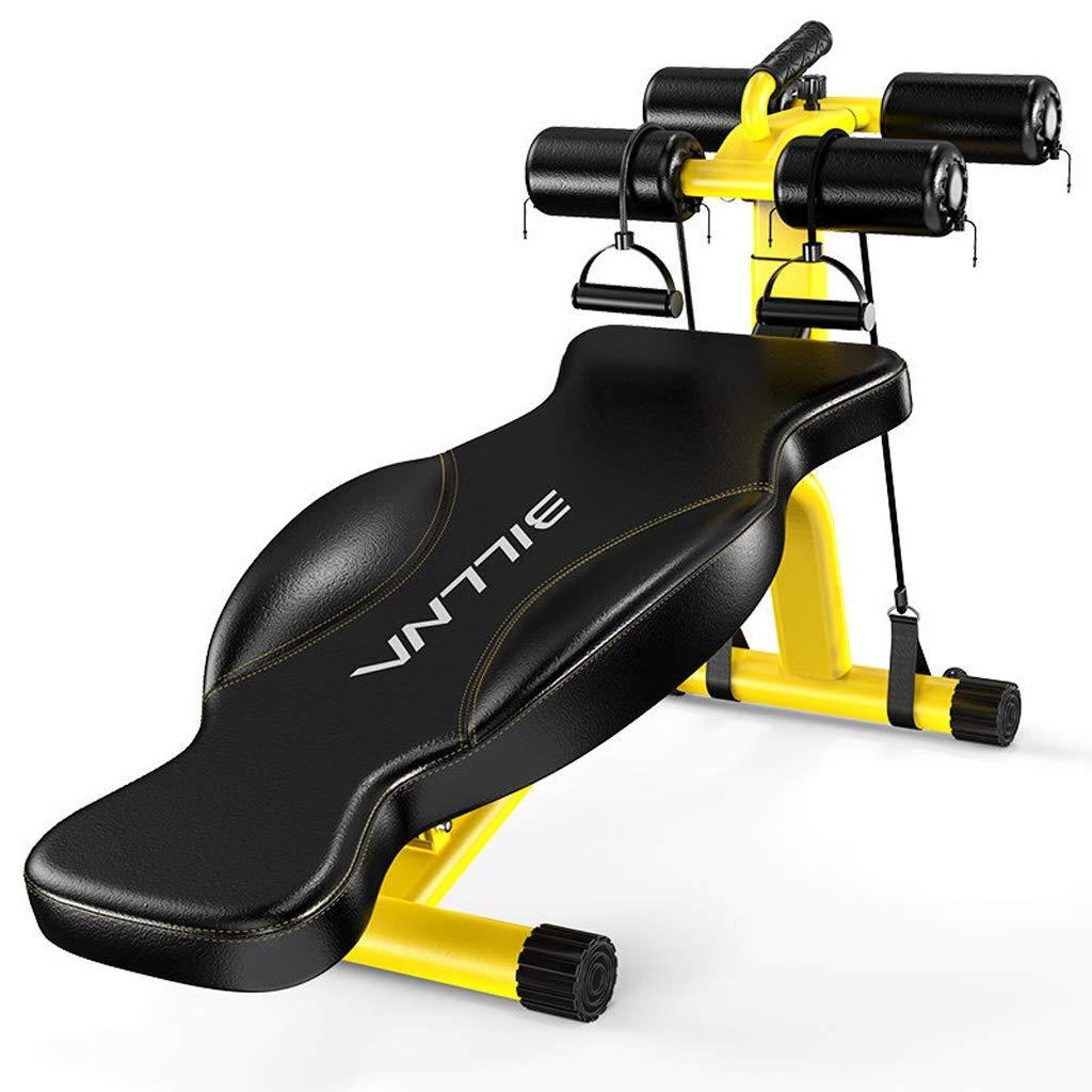 YXGH- Justierbare Gewichts-Bänke sitzen Oben Bank-Bauch-übung Crunch-Brett-Schwarz-Hauptgymnastik-Gebrauch Faltbare Eignungs-Ausrüstung Sit-ups Bank, tragende Kapazität 300kg Sportwaren