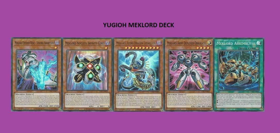 Ultra Rare Rage Of RA Meklord Astro Dragon Triskelion Yu-Gi-Oh