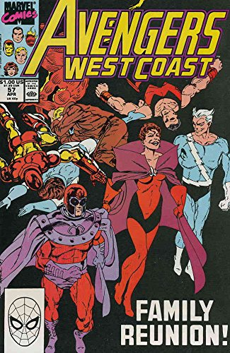 Avengers West Coast #57 FN ; Marvel comic book