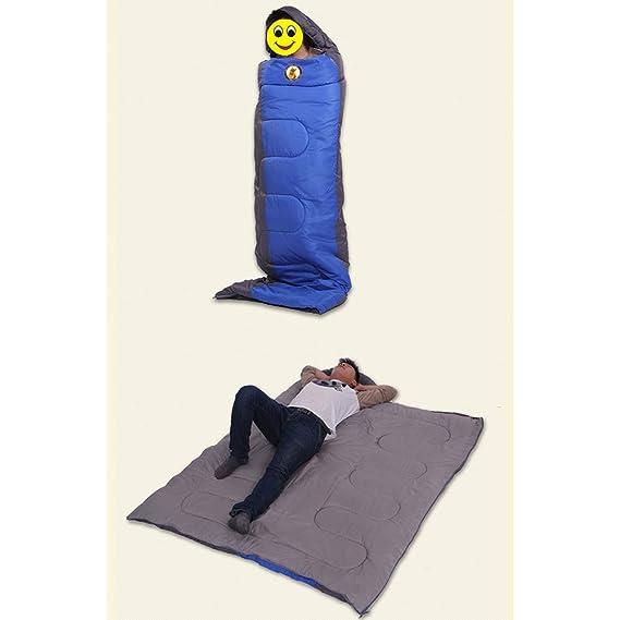 Saco De Dormir Acolchado Cálido Otoño E Invierno Saco De Dormir para Adultos Impermeable Y Transpirable Saco De Dormir De Algodón Ultra Ligero para Al Aire ...