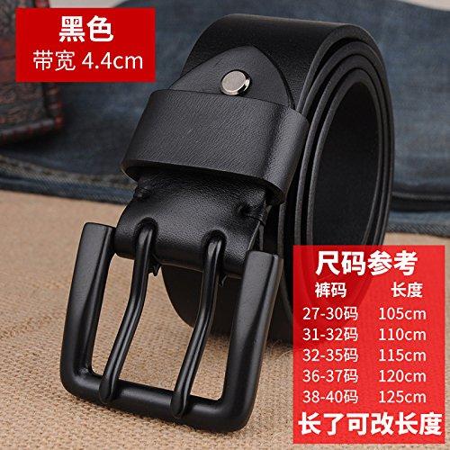 30% de descuento LLZPD Cinturón Hombre Cinturones Hebilla Doble Cumpleaños  2377bafe3638