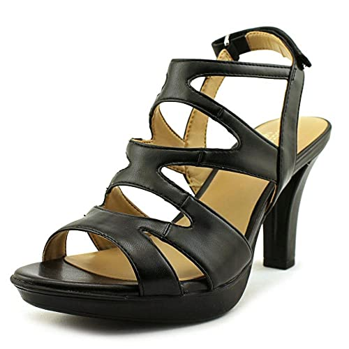 7ca217a42ae Naturalizer Womens Dianna Open Toe Casual Strappy Sandals  Amazon.ca ...