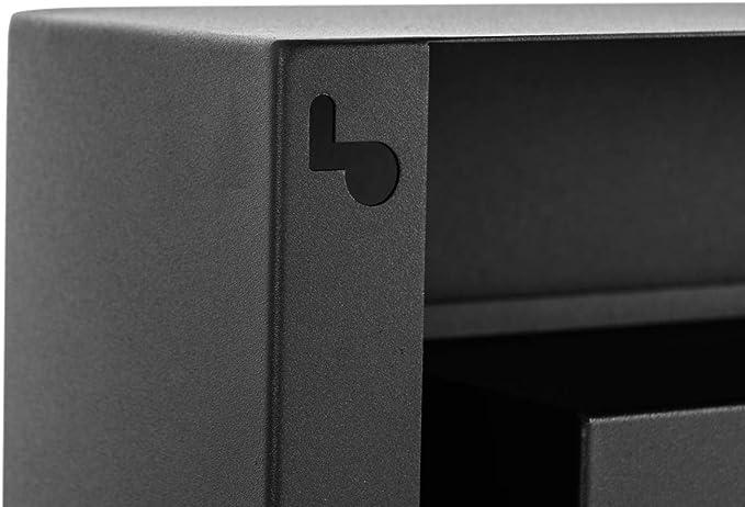 Biokamin Nice-House BOX Chemin/ée bio-/éthanol 90 x 40 cm avec canevas en verre Noir 900 x 400 mm