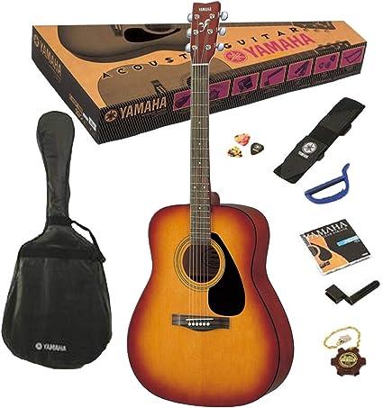 YAMAHA F310PTBS - Guitarra Acústica, Marrón (Tabacco Brown ...