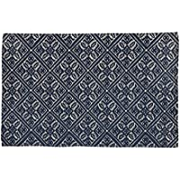 Park Designs Wallace 36 Inches x 24 Inches Cotton Printed Rug Home Decor