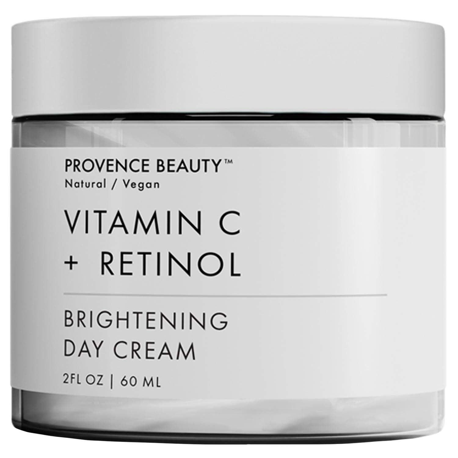 Vitamin C and Retinol Day Cream - Hydrating Face and Neck Moisturizer for Anti Aging, Wrinkle, Acne, Firming and Dry Skin - Organic Facial Cream for Women, Men and all Skin Types - 2 Fl Oz