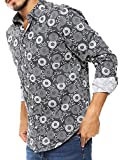 OnsloW Multiple Designs Men's Casual Dress Shirt Long Sleeve Slim Fit Button-Up