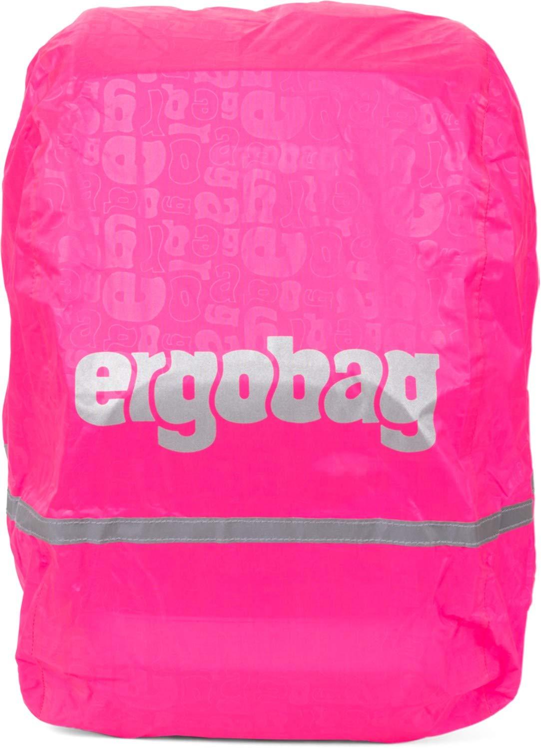 ergobag Pack Schubi DuB/är Schulrucksack-Set 6tlg Regencape Pink