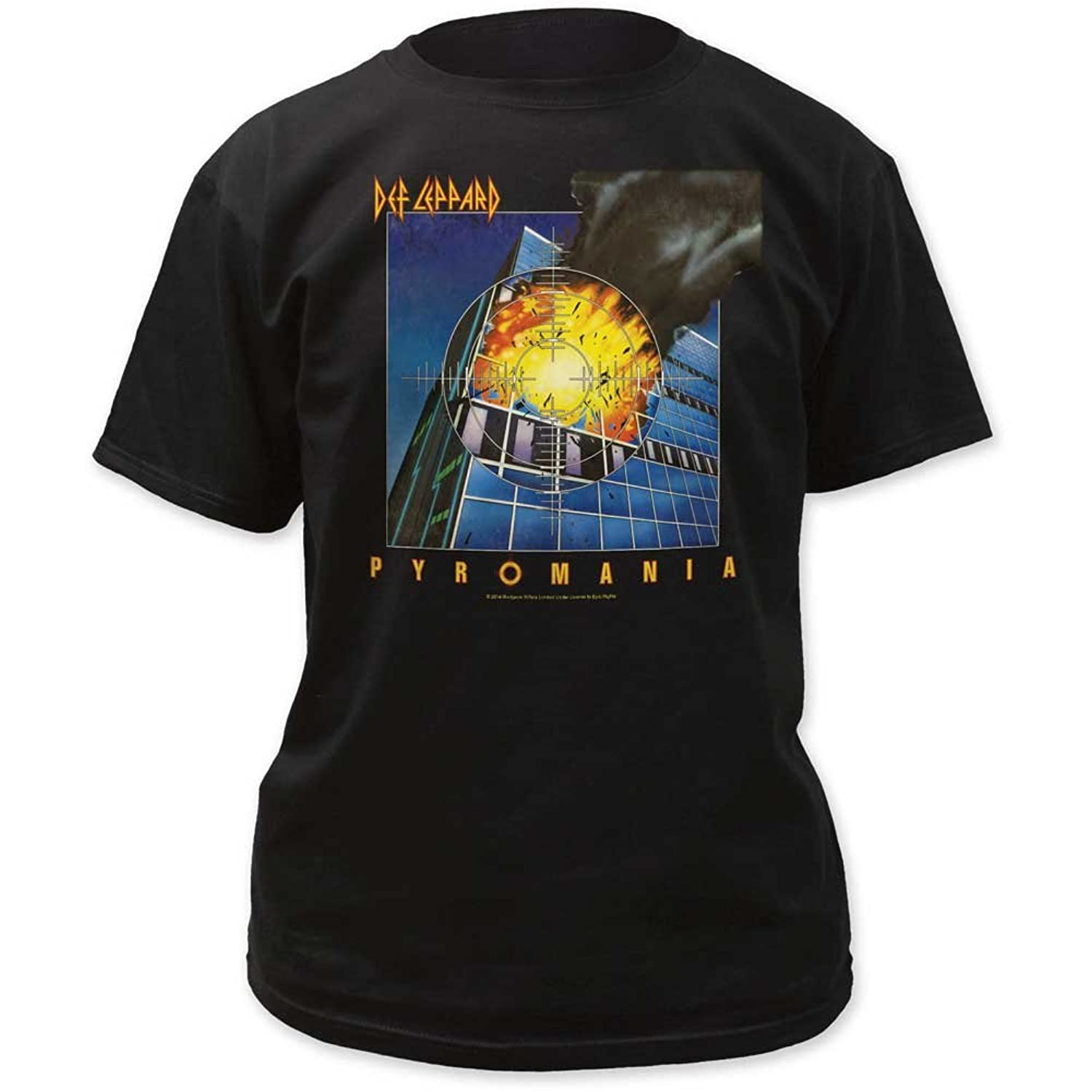 Def Leppard - Mens Pyromania Adult T-Shirt