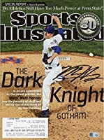 Matt Harvey New York Mets Autographed The Dark Knight of Gotham Sports Illustrated Magazine - Fanatics Authentic Certified