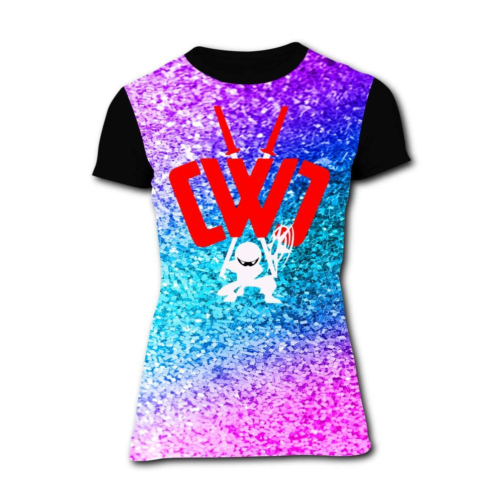 FAAVC Chad Wild Clay Short Sleeve Crewneck T Shirt Casual T-Shirt for Women Girls
