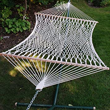 11 u0027 cotton rope hammock   amazon     11 u0027 cotton rope hammock     garden  u0026 outdoor  rh   amazon