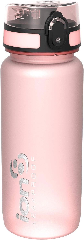 Ion8 Leak Proof BPA Free, Botella de Agua Unisex Adulto