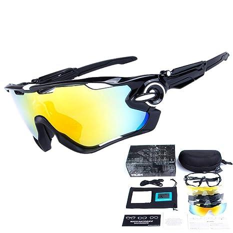Yuqianqian Gafas Polarizadas Deporte Bici Anti UV400 5pcs ...