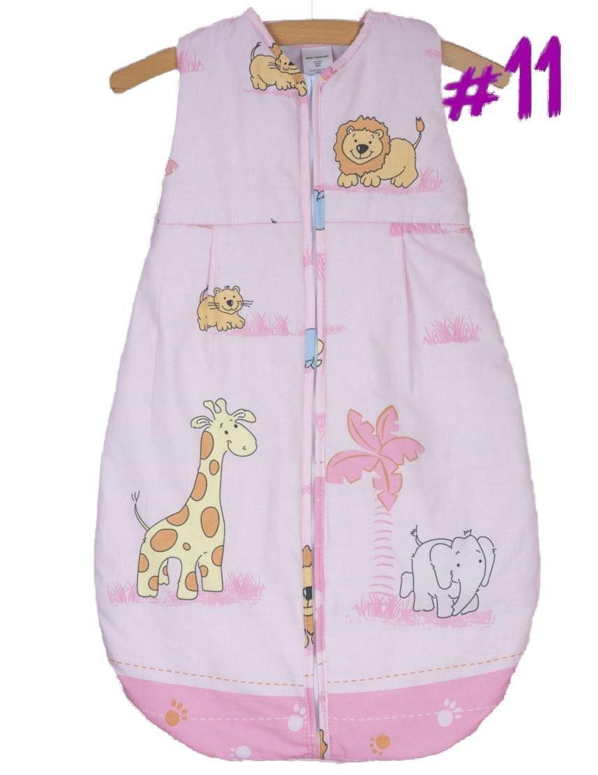 Newborn Sleeping Bag 6-18 Months, 86cm Short Sleeve - Pattern 11 Baby Comfort