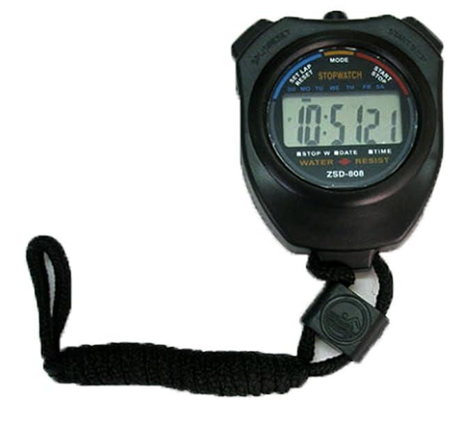 4639fc2bb67c Onogal 1074 - Cronometro digital con alarma y control de tiempos en  deporte  Amazon.es  Relojes