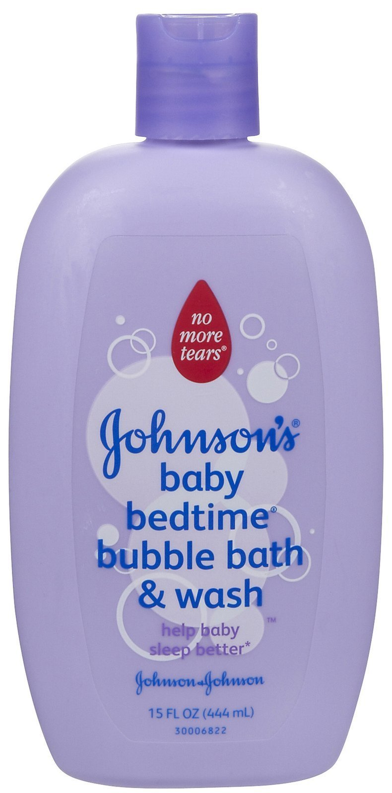 JOHNSON'S Baby Bedtime Bubble Bath & Wash -15 oz