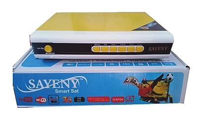 Sayeny Free to Air FTA DTH Set Top Box Watch DD Freedish Channels Free,  MPEG2, 999 Channels + Radio