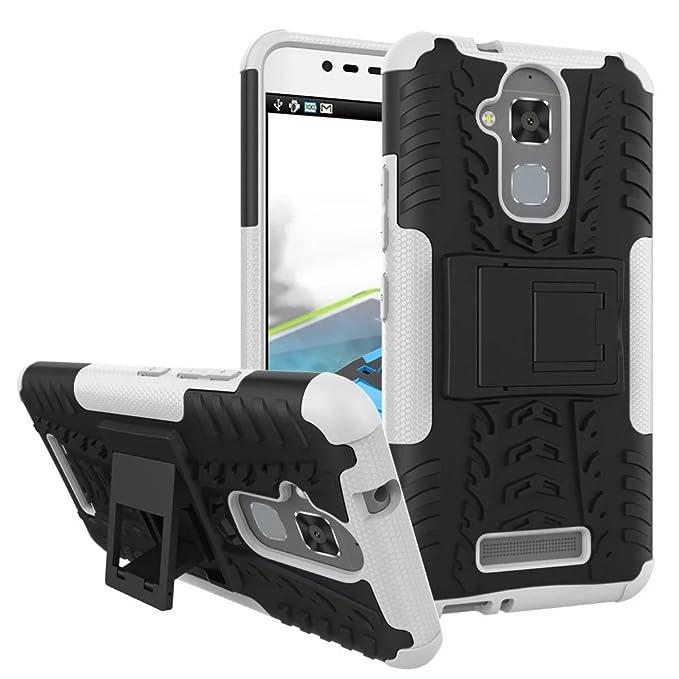 """113 opinioni per SMTR Zenfone 3 Max ZC520TL (5.2"""") Case Dual Layer Custodia Ibrida Rigida Morbido"""