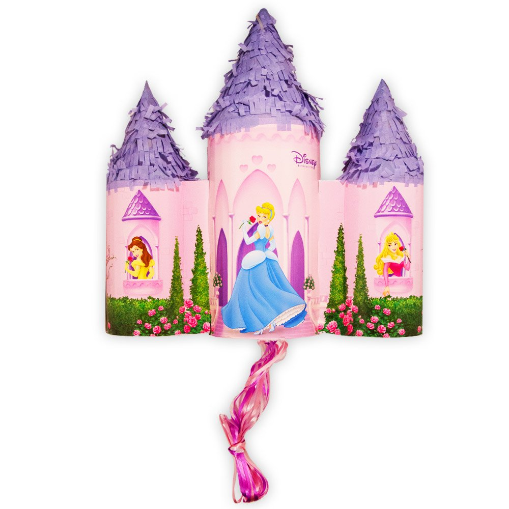 Disney Fairytale Princess Castle Pull-String Pinata Hallmark