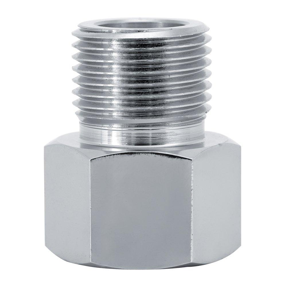 Yosoo Convertidor de conector adaptador de cilindro para regulador de CO2/Acuario Equipo de dep/ósito de Pez 4/tama/ños
