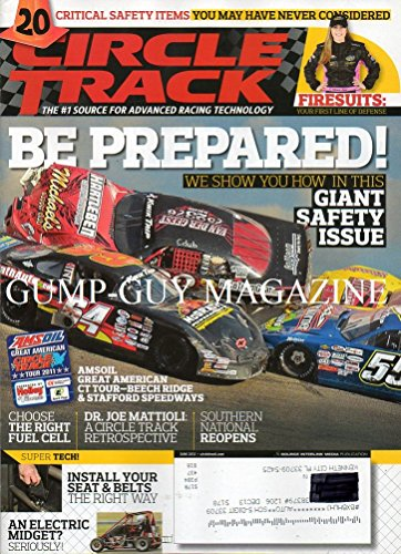 Circle Track #1 Source For Advanced Racing Technology June 2012 Magazine BE PREPARED: WE SHOW YOU HOW IN THIS GIANT SAFETY ISSUE Critical Safety Items: You May Have Never Considered ()