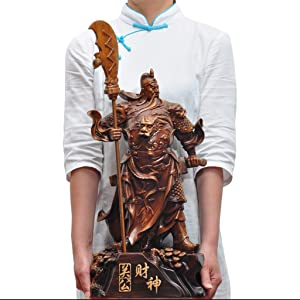 God of Wealth Guan Gong Decoration Recruitment Erye Idol Home Living Room Enterprise Company Shop Buddha Dedication Evil Spirits Money Drawing Wealth Fortune