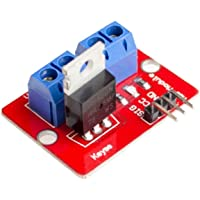 WSCHENG® 10pcs / lot IRF520N Modules 0-24V Top Mosfet Button IRF520 MOS Driver Module For MCU ARM