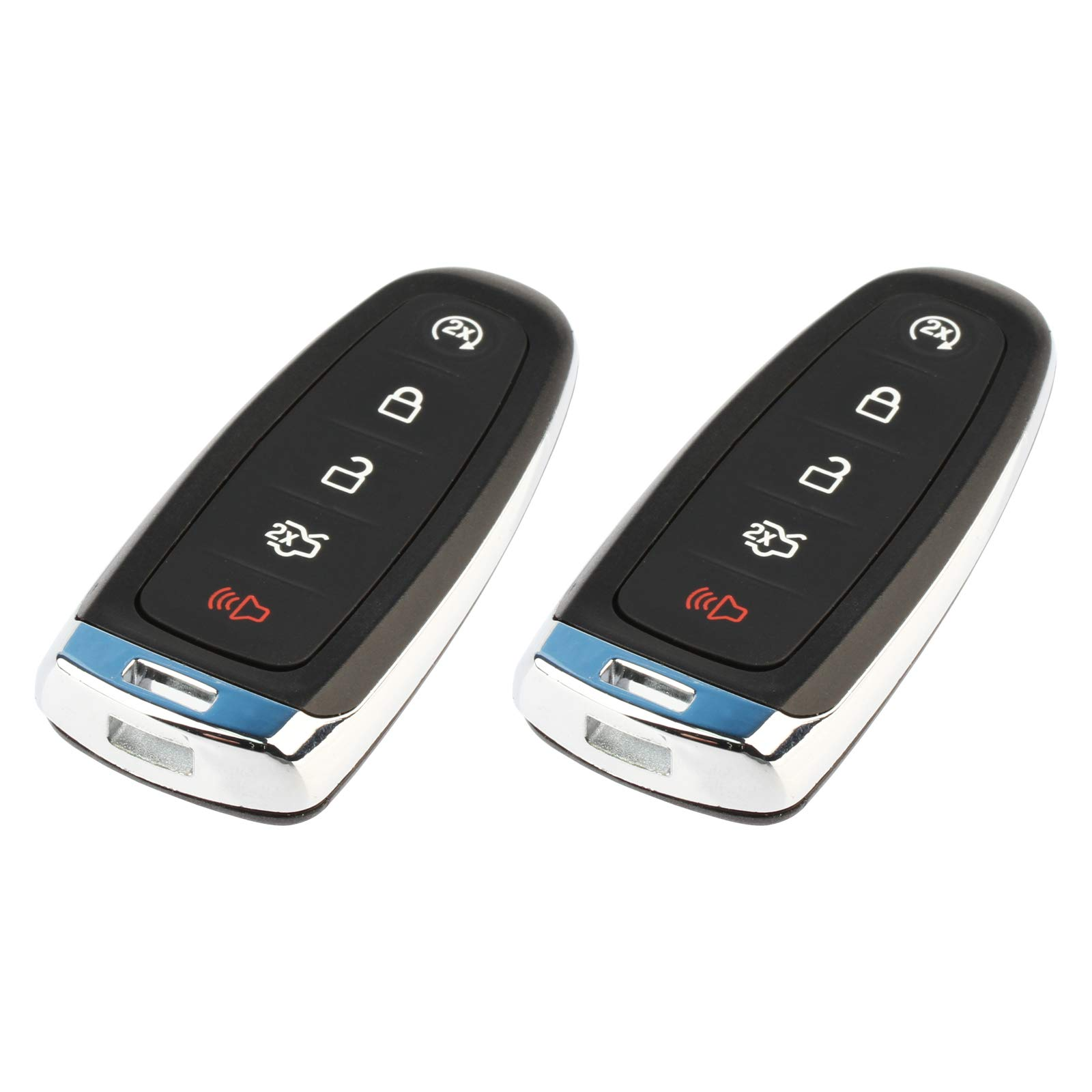 fits 2011-2019 Ford Lincoln Smart Key Fob Keyless Entry Remote (M3N5WY8609), Set of 2 by USARemote