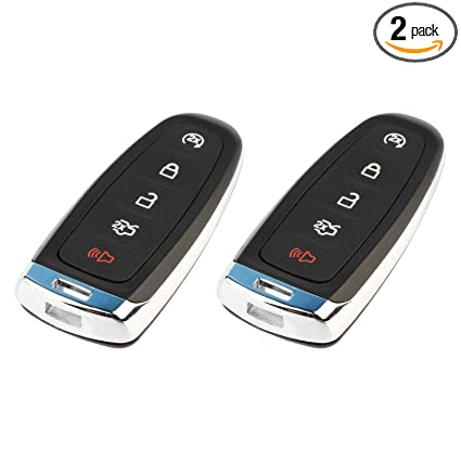 Pack of 2 KeylessOption Keyless Entry Car Remote Start Smart Key Fob for Ford Lincoln M3N5WY8609