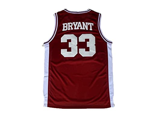 d424a3cda Amazon.com  beolous Jersey  33 Kobe High School Retro Basketball ...
