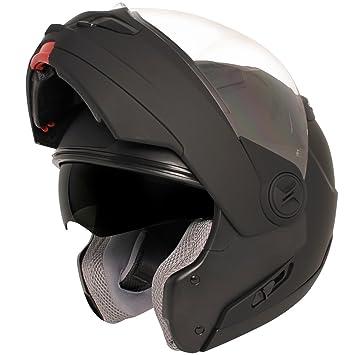 Hawk st-1198 transición 2 en 1 soporte de casco modular en negro