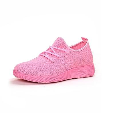 ad2cd8e0083f Qianliuk Frauen Laufen Sneakers Atmungsaktive Air Mesh Schuhe Leichte Sommer  Flats Sneakers