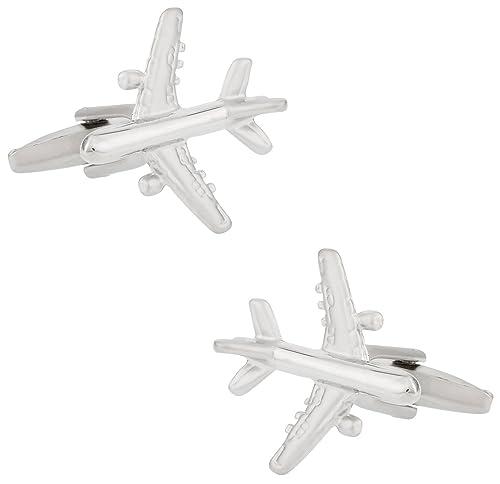 Amazon.com: Gemelos de Avión Comercial por Cuff-Daddy: Jewelry