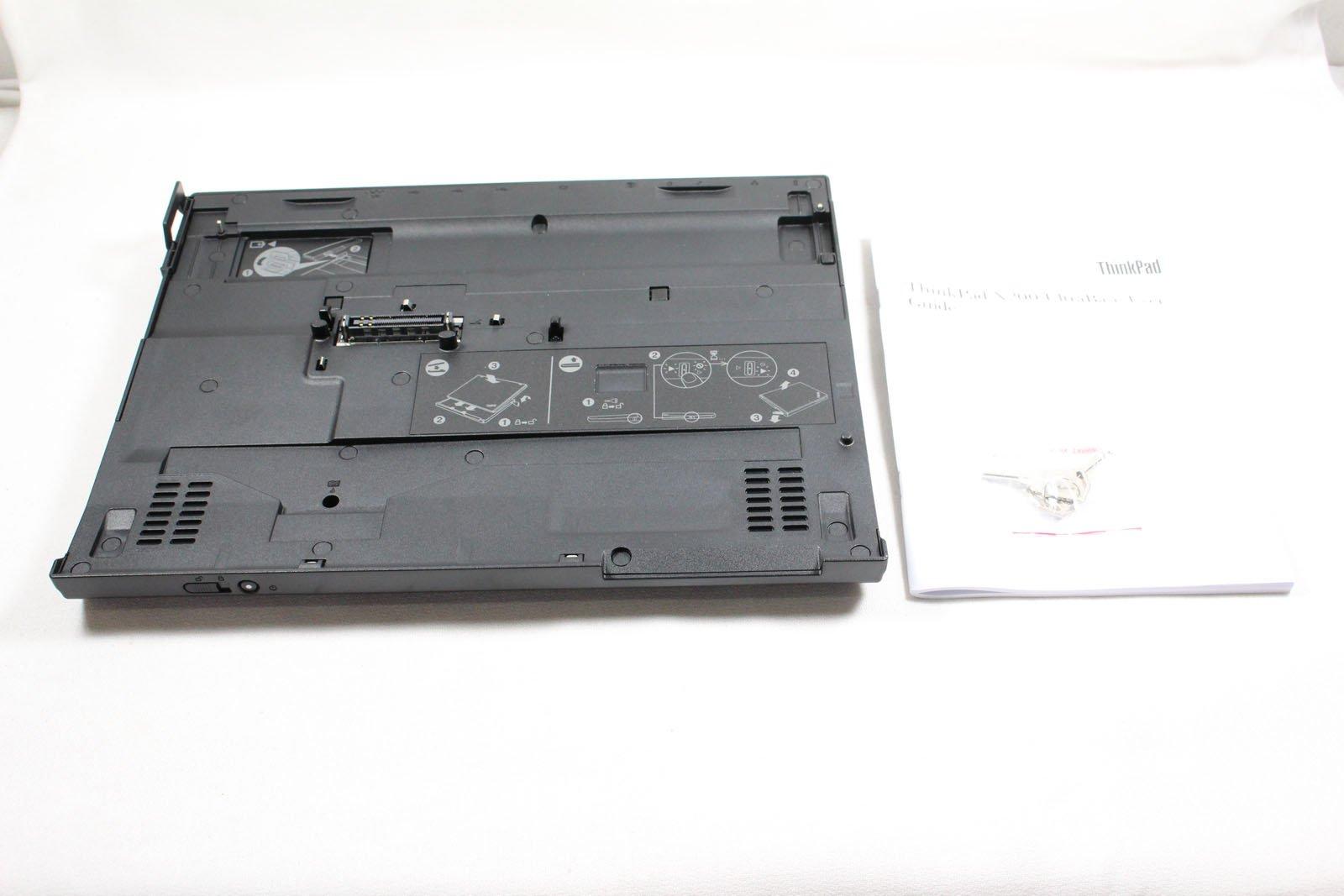 43R8781 - Lenovo ThinkPad X200 UltraBase Docking station Network, USB, Display/Video, VGA, Microphone, Headphone, Stereo, Docking/Port Replicator by Lenovo Group Limited (Image #1)